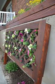 diy flower planter vertical flower garden 4