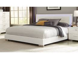 Coaster Felicity King Low Profile Bed with LED Backlight | Value ...