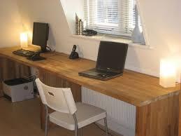 diy office desk ikea kitchen. big oak desk from kitchen worktops diy office ikea i