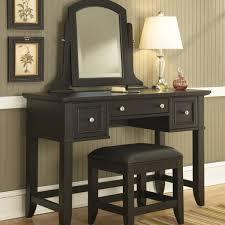 antique oak makeup vanity table set w mirror mugeek
