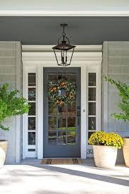 front door ideas glass screen light fixture placement exterior fixtures hanging