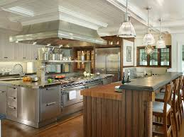 Image of: The Stainless Steel Kitchen Island