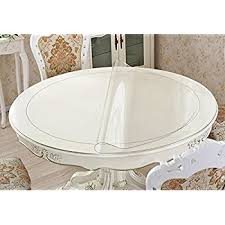 clear plastic furniture. Eco Thicken Clear PVC Round Table Protector Cover Plastic Tablecloth Wipeable Waterproof Protective Furniture