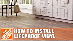 Lifeproof Vinyl Flooring Starry Light How To Install Lifeproof Vinyl Flooring The Home Depot