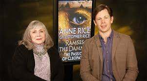 """Anne and Christopher Rice Talk """"Ramses The Damned: The Passion Of  Cleopatra"""" (Interview)"""
