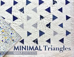 Minimal Triangles Quilt - Suzy Quilts & Minimal-Triangles-Quilt-Pattern Adamdwight.com
