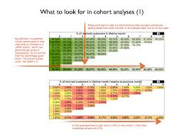 How To Make A Cohort Chart In Excel Use This Spreadsheet For Churn Mrr And Cohort Analysis