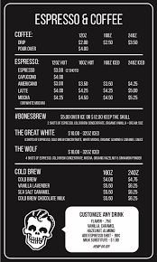 Get started by entering your food and drink choices under keywords. Rad Coffee Menu S