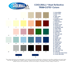 Cool Wall Color Swatches
