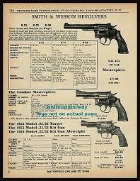 1957 smith wesson k 22 k 32 k 38