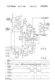 patent us4793561 speed responsive reversing hydraulic drive for patent drawing