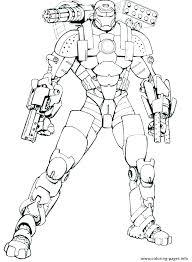 Iron Man Printable Coloring Pages Anneliesedalabaorg