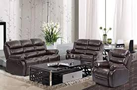 dining room sofa set. Interesting Sofa BestMassage Living Room Sofa Set Recliner Reclining Couch Home Theater  Seating Chair Leather Loveseat Intended Dining C