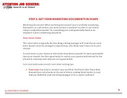 Cover Letters Read Now Enchanting Attention Job Seekers Your Search Is At Stake 48 Steps To Becoming A