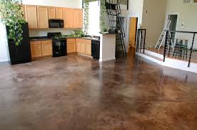 Poured Concrete Kitchen Floor Painting Indoor Concrete Floors Janefargo