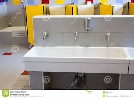 preschool bathroom sink. [Bathroom Interior] Kids Bathroom Modern School. Preschool Sink Dreamstime R