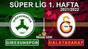 GİRESUNSPOR - GALATASARAY ( Süper Lig 1. Hafta Maçı ) / FIFA 21 - PES 2021  - YouTube