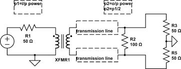 balun transformer design electrical engineering stack exchange electrical transformers pdf at Transformer Schematic