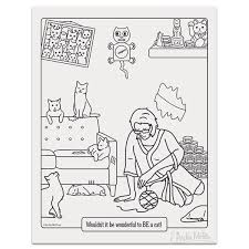 This Funny Crazy Cat Lady Coloring
