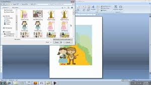 how to create a birthday card on microsoft word creating invitation using clipart in microsoft word youtube