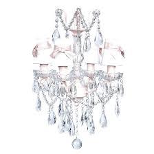 shabby chic chandelier white bby chic chandelier alluring