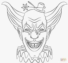 Coloring Pages Scary Coloring Pages For Adults Scary Drawing At