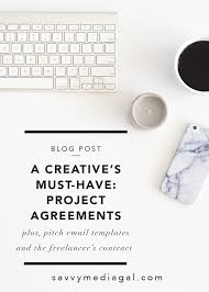 Project Contract Templates A Creative's Must Have: Project Agreements (Plus, Free Template ...