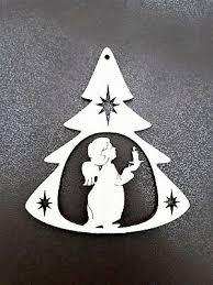 Fensterbild Holzbild Weihnachten Christbaumschmuck