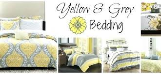 Yellow gray bedding Bedroom Yellow And Gray Comforter Sets King Piece Modern Grey With Regard To Inspirations Forcebetonorg Yellow Comforter Sets Queen Euphoria Piece Set Pertaining To And