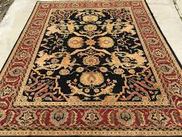 latest hand knotted rugs from india new indian agra 8 x 10 rug curator