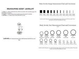 Labret Stud Size Chart 71 Scientific Lip Ring Diameter Chart