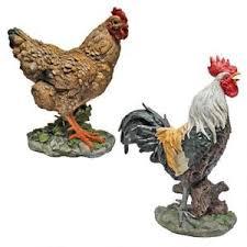 ebay farm and garden. image is loading countryside-barnyard-hen-amp-rooster-farm-statue-garden- ebay farm and garden n