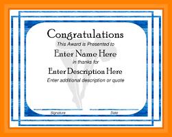 15+ Congratulation Certificate   Us31 Kokomo
