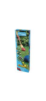 kingfisher wooden garden croquet set multicolor