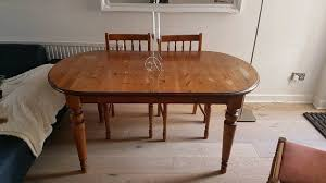 extendable john lewis dining table 4 chairs