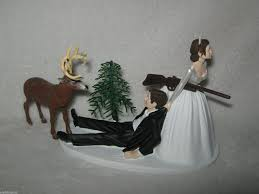 hunting themed wedding cake toppers - Wedding Cake Ideas