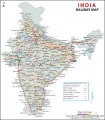 india railway map indian railways