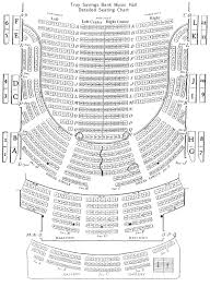 Radio City Music Hall 3d Seating Chart Seating Charts Troy Savings Bank Music Hall