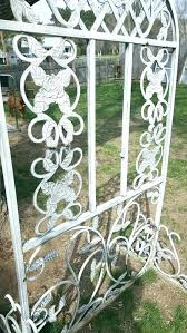 vintage garden trellis photo 7 of 8 cast iron decor flower antique wrought outdoor obelisk metal