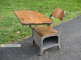 top small vintage chair with antique vintage school house small child s desk and chair