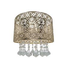 seattle rose ceiling shade french gold