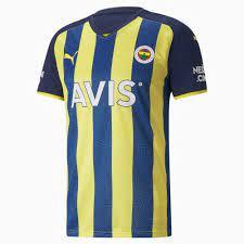 Fenerbahçe S.K Herren Heimtrikot | Blazing Yellow-Medieval Blue | PUMA  Fussball Clubs |