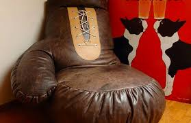 cool man cave furniture. boxing glove chair cool man cave furniture e