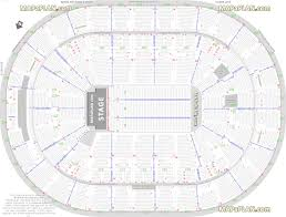 Verizon Center Seating Chart Capitals Detailed Seat Row Numbers End Stage Concert Sections Floor