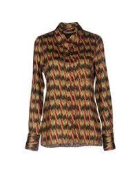 EQUIPMENT FEMME Рубашки и <b>блузки с</b> рисунком | Yoox <b>блуза</b> ...