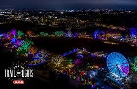 Austin Christmas Light Festival 55th Annual Austin Trail Of Lights Powered By H E B