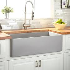 fireclay sink review farmhouse sink gray fireclay sink reviews fireclay sink review