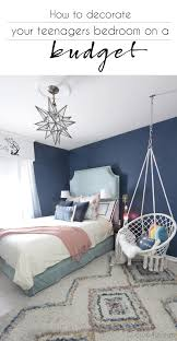 how to decorate your teenagers bedroom on a budget teenage girl bedroom ideas how