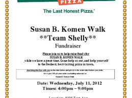 round table fundraiser for susan g koman walk