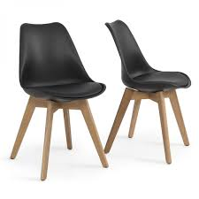 Molded plastic furniture Patio Belleze Retro Dsw Style Molded Plastic Chair Side Premium Wooden Leg Set Of 2 One Big Outlet Set Of Modern Dsw Molded Plastic Eiffel Wooden Leg Side Chairs